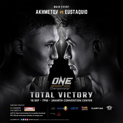 Geje Estaquio headlines ONE: Total Victory on ABS-CBN S+A