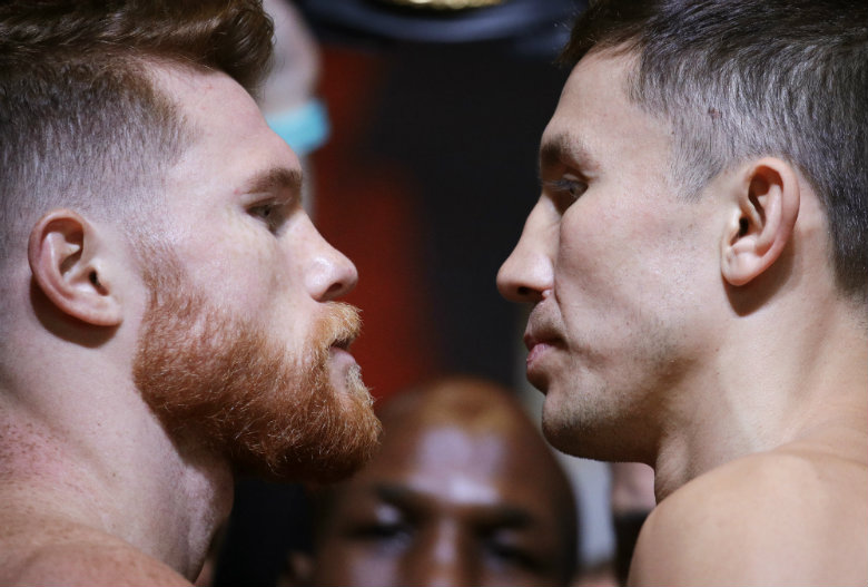 It's on: Triple G and Canelo ready for big middleweight bout