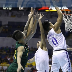Yet again, Thirdy Ravena spreads his wings and flies
