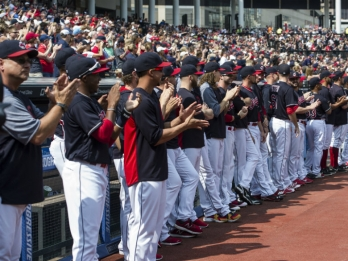 Indians celebrate division title with eyes on Series win