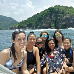 LOOK: Sun, sand, and sea with the Cool Smashers