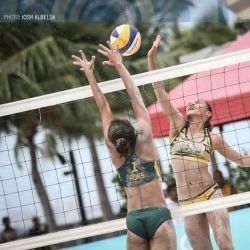 Pons, Rondina team up for SEA Beach Volleyball Championships
