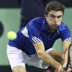Former champ Gilles Simon loses to Gojowczyk at Moselle Open