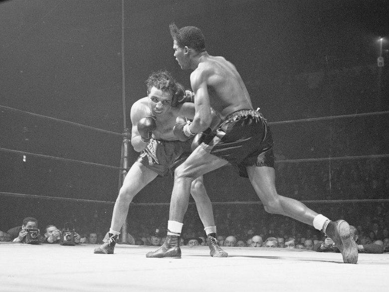 Jake LaMotta, boxer who inspired 'Raging Bull,' dies at 95