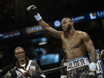 WBC heavyweight champion Wilder to face Ortiz in November