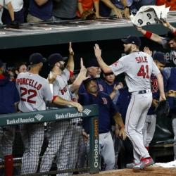 Sale reaches 300-strikeout mark in Major League Baseball