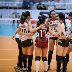 Lady Maroons, Lady Red Spikers out to boost semis bids