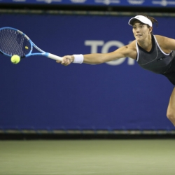Top-seeded Muguruza advances to Pan Pacific Open semifinals