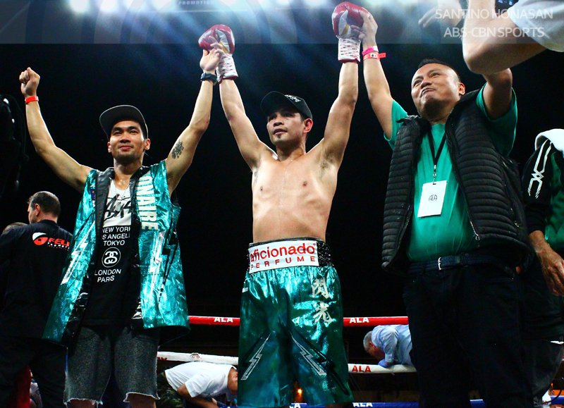 Donaire victorious in return, claims WBC Silver title