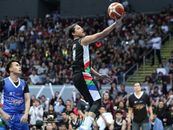 Daniel Padilla drops 55 in inter-ABS-CBN league game