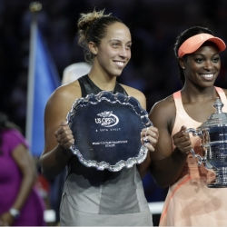 US Open finalists knocked out in 1st round at Wuhan Open