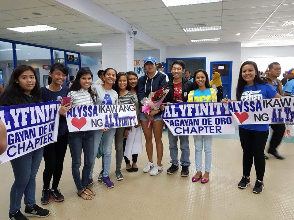 Alyssa Valdez gets warm welcome in Cagayan De Oro