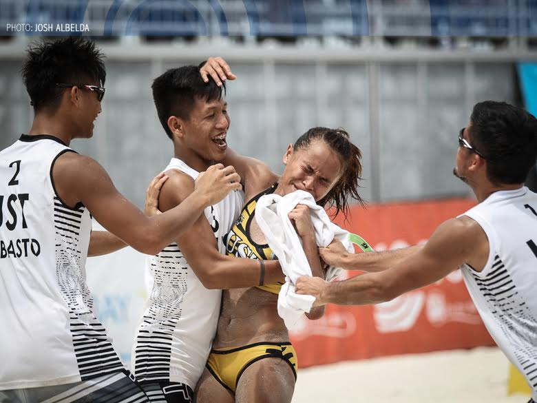 LOOK: Updated UAAP Season 80 beach volleyball schedule