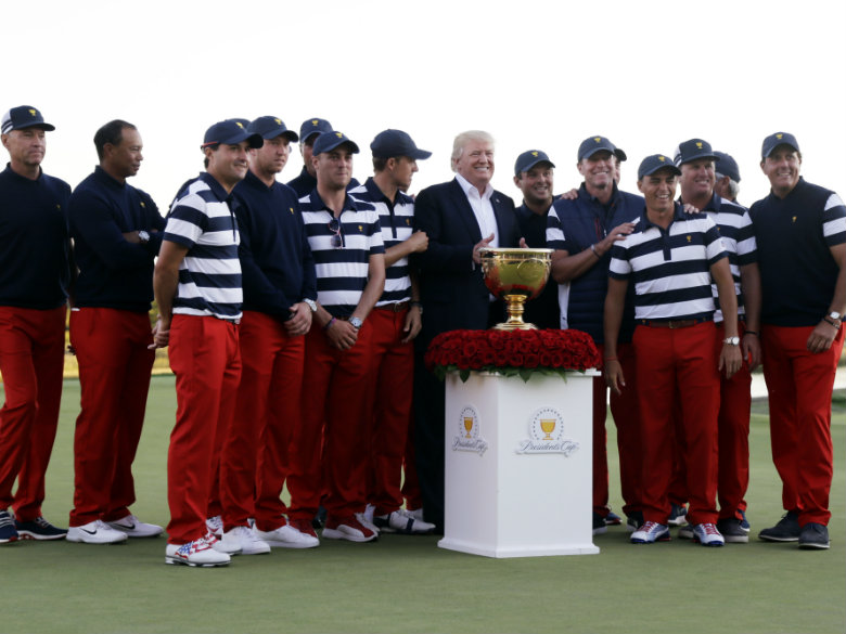 US at its best at Presidents Cup; 'Wow, did you play well'