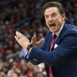 Louisville board OKs firing of Pitino in hoops scandal