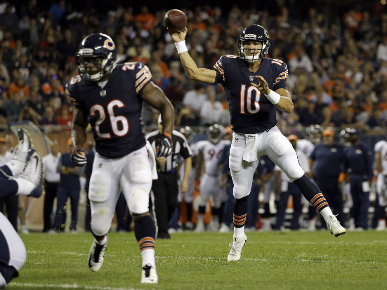 Bears bench Mike Glennon in favor of rookie Mitchell Trubisky