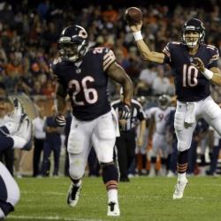Bears rookie QB Mitchell Trubisky to debut vs. Vikings