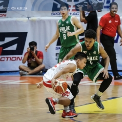 San Beda remains in hot pursuit of CSB-LSGH for second spot