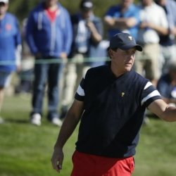 Mickelson's final mission: Win a Ryder Cup in Europe