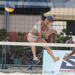 Tigresses down Lady Spikers in beach volleyball opener