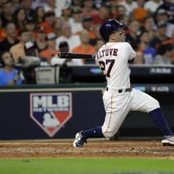 Altuve hits 3 homers, Astros beat Red Sox 8-2 in ALDS opener
