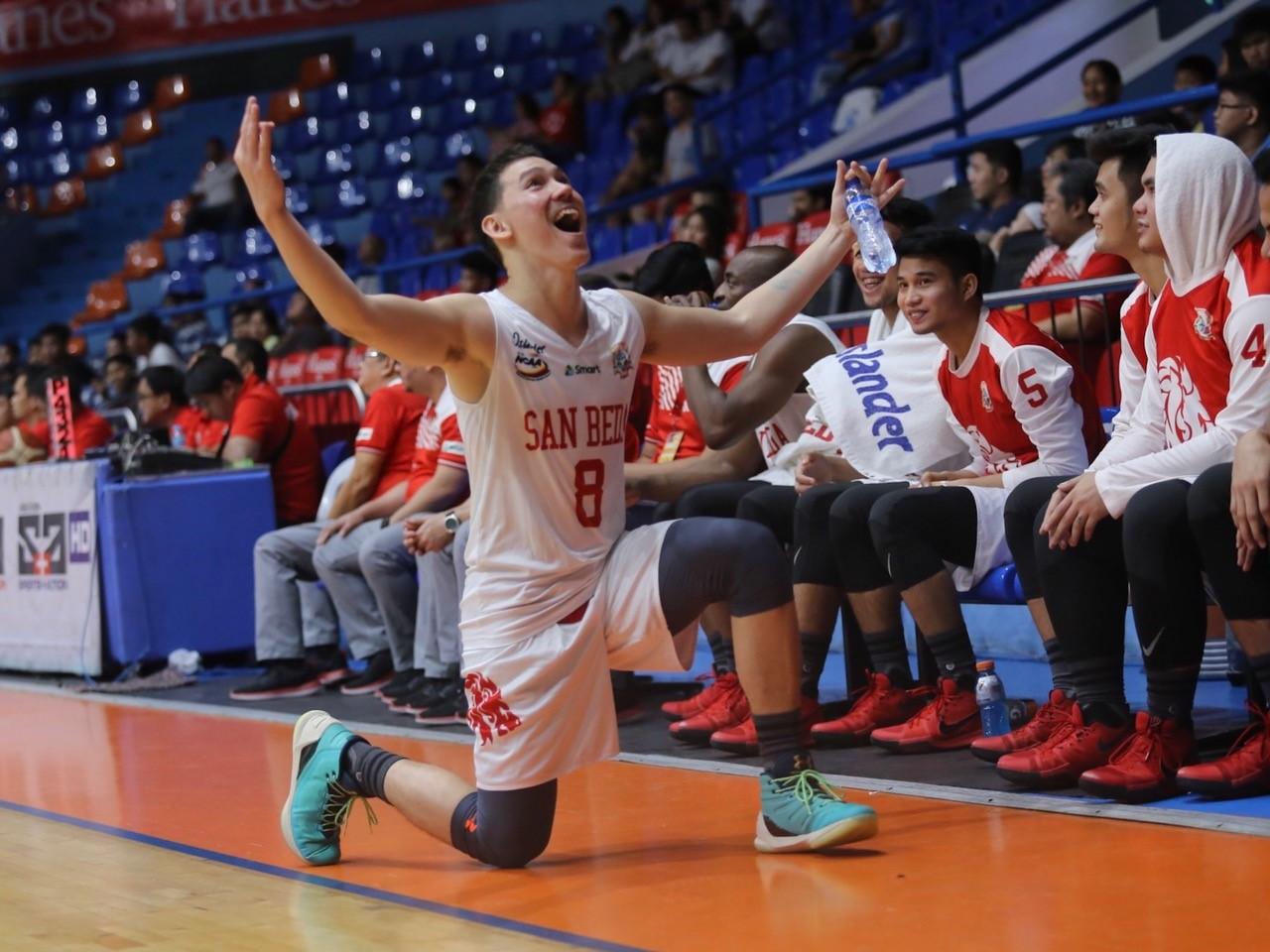 Bolick on Red Lions' 26 assists: 'Parang Spurs kami'
