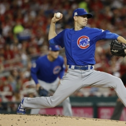 Hendricks outduels Strasburg as Cubs top Nats 3-0 in Game 1