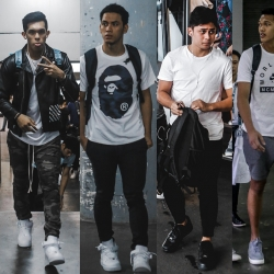 ADMU, DLSU players rock Air Force 1s ahead of rivalry match