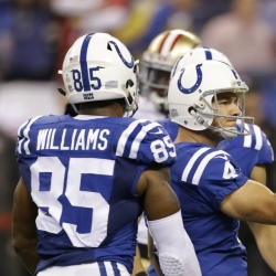 Colts celebrate Manning's return with 26-23 win over 49ers