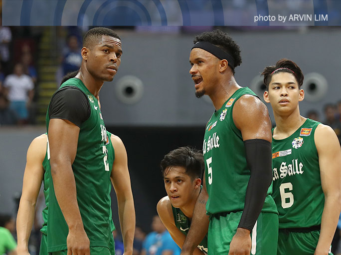 Mbala says DLSU not the defensive team it was last year