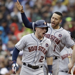 Astros beat Red Sox 5-4 in Game 4, advance to ALCS