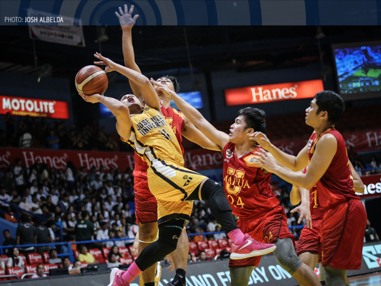JRU shoots for sure seat in playoffs against Mapua