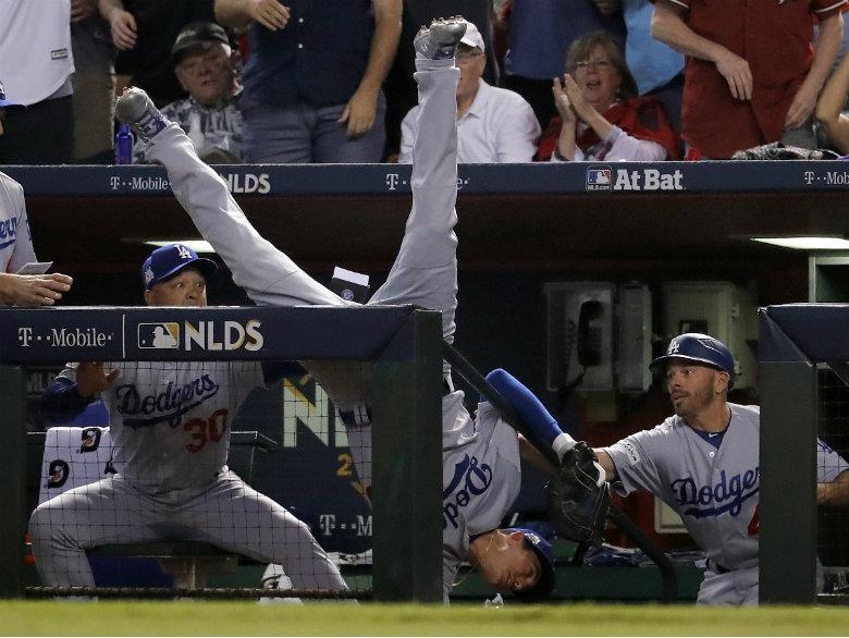 Bellinger, Dodgers beat D-backs 3-1 to return to NLCS