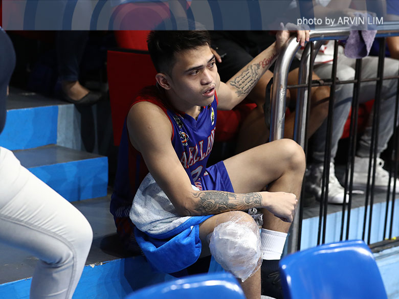 Injured Salado has faith in Arellano's other guys