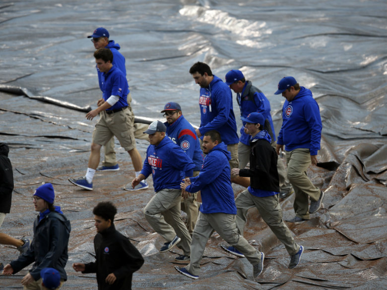 NLDS Game 4 of Nats-Cubs rained out