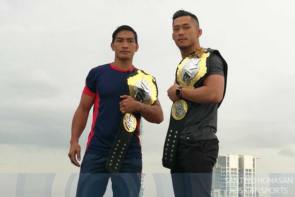 Eduard Folayang and Martin Nguyen face off in Manila