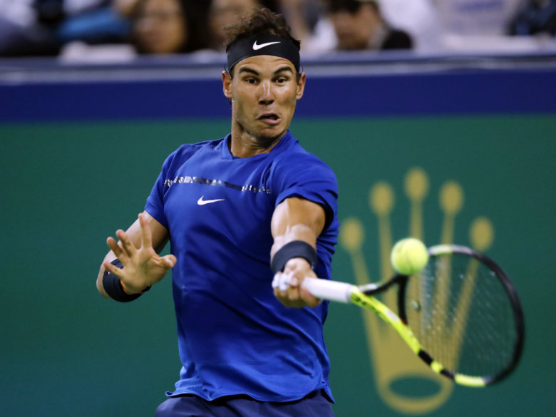 Nadal and Federer win in straight sets at Shanghai Masters