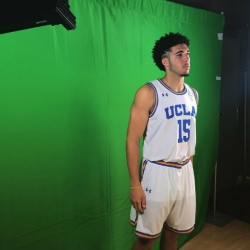 LiAngelo Ball center of attention at UCLA media day