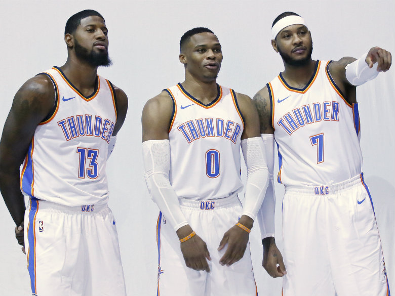 Thunder add reinforcements for MVP Westbrook