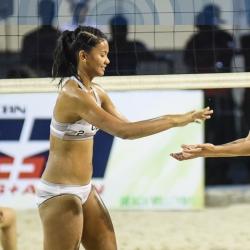 Rondina, Viray power UST to finals berth in beach volleyball
