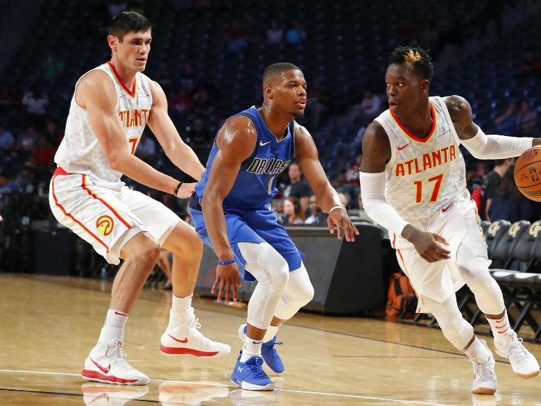 Rookie Smith Jr. sprains ankle in Mavericks' win over Hawks