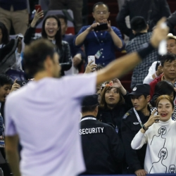Nadal, Federer cruise into Shanghai Masters quarterfinals