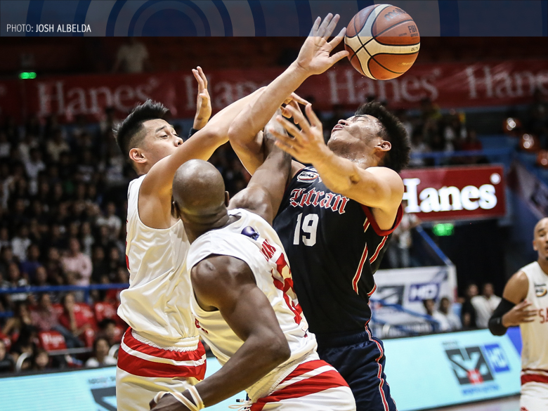 San Beda outworks Letran for a shot at top-seed