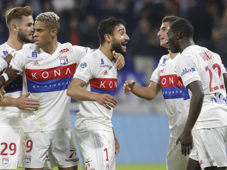 Fekir scores late free-kick winner as Lyon beats Monaco 3-2