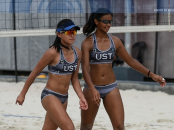 Sweep repeat for Tigresses in women's beach volleyball