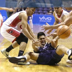 Alejandro's 16-10-8 goes to waste as NU fails to fight