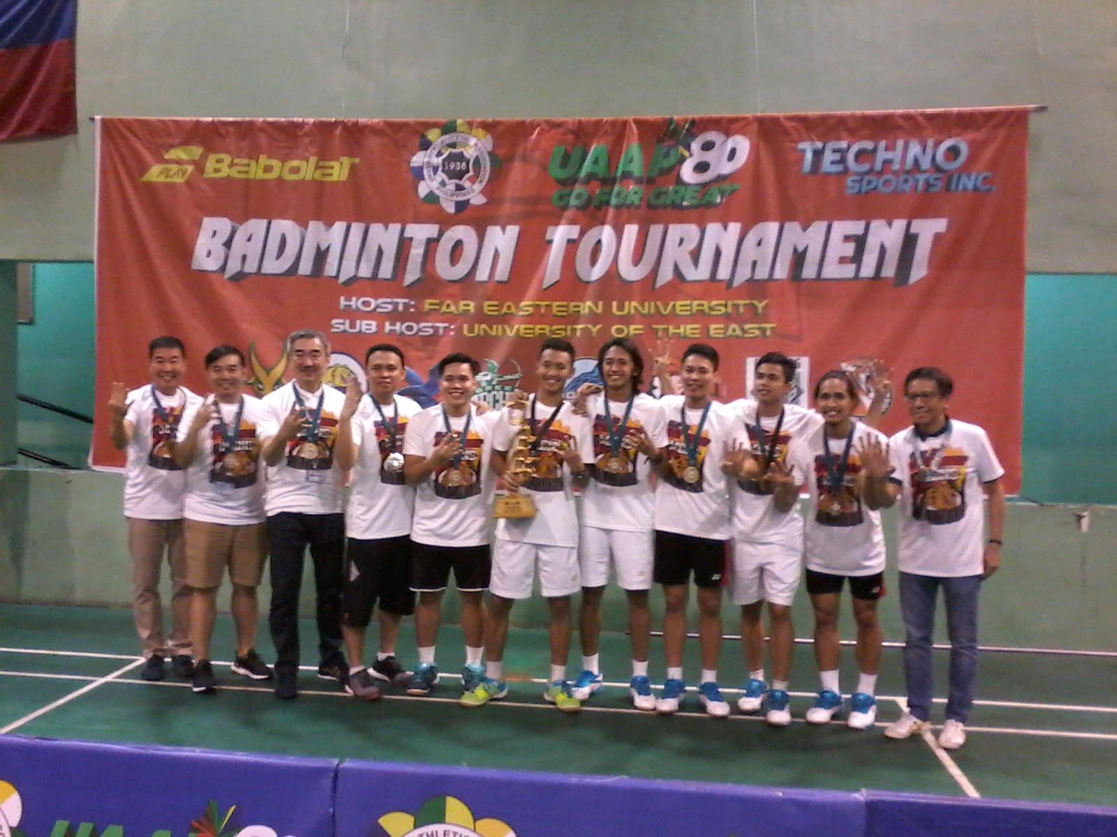 Bulldogs complete badminton 4-peat