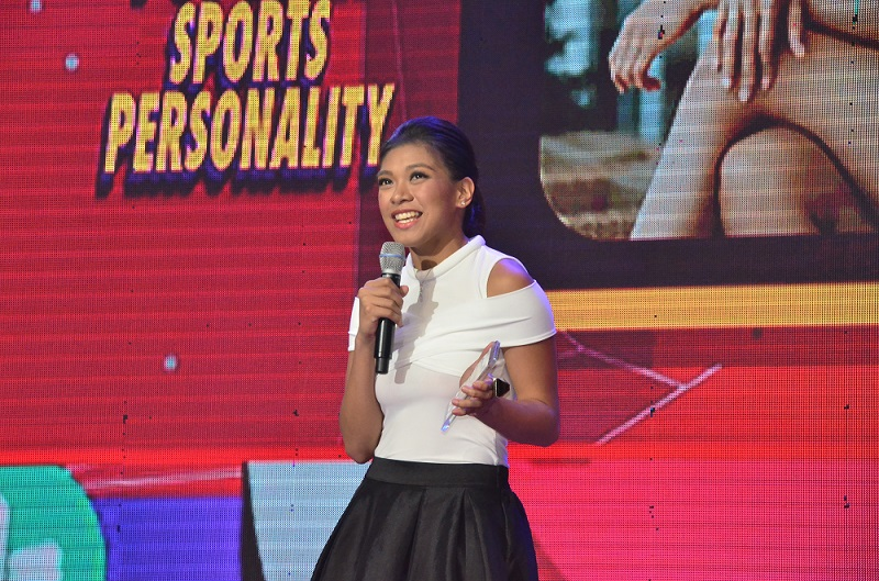 Valdez bags sports personality award for 2nd straight year