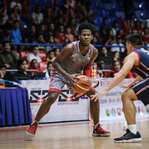 For the third time, LPU's Perez is Player of the Week