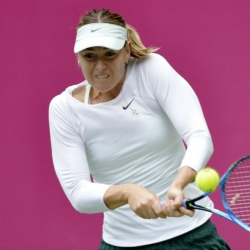 Sharapova wins her 1st title since doping ban